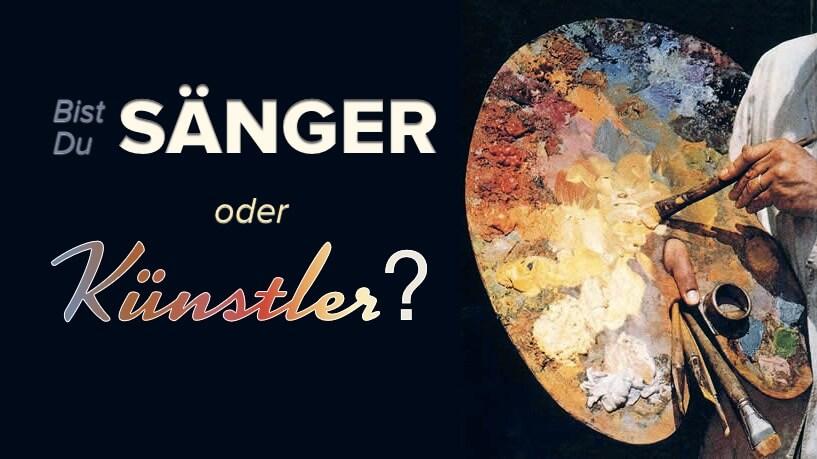 Bist Du Sänger oder Künstler? – SB003