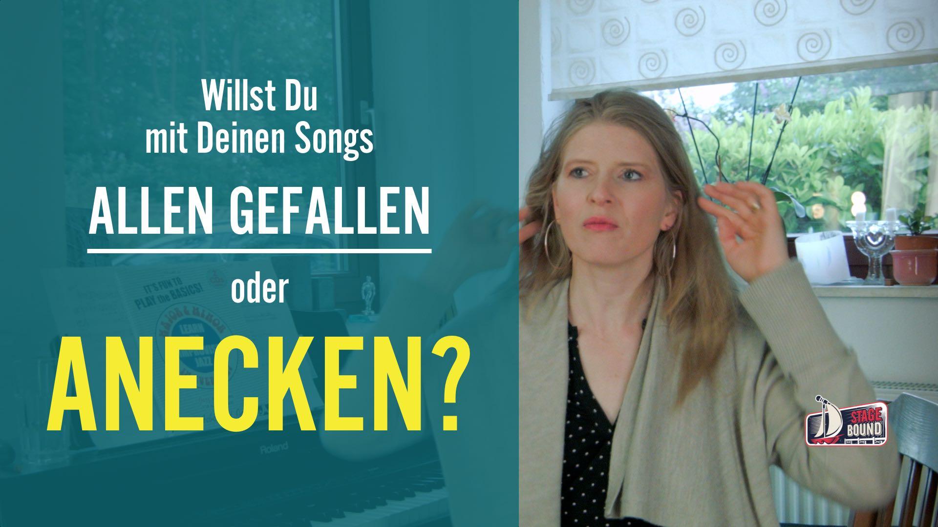Mit Deinem Songs allen gefallen oder anecken?