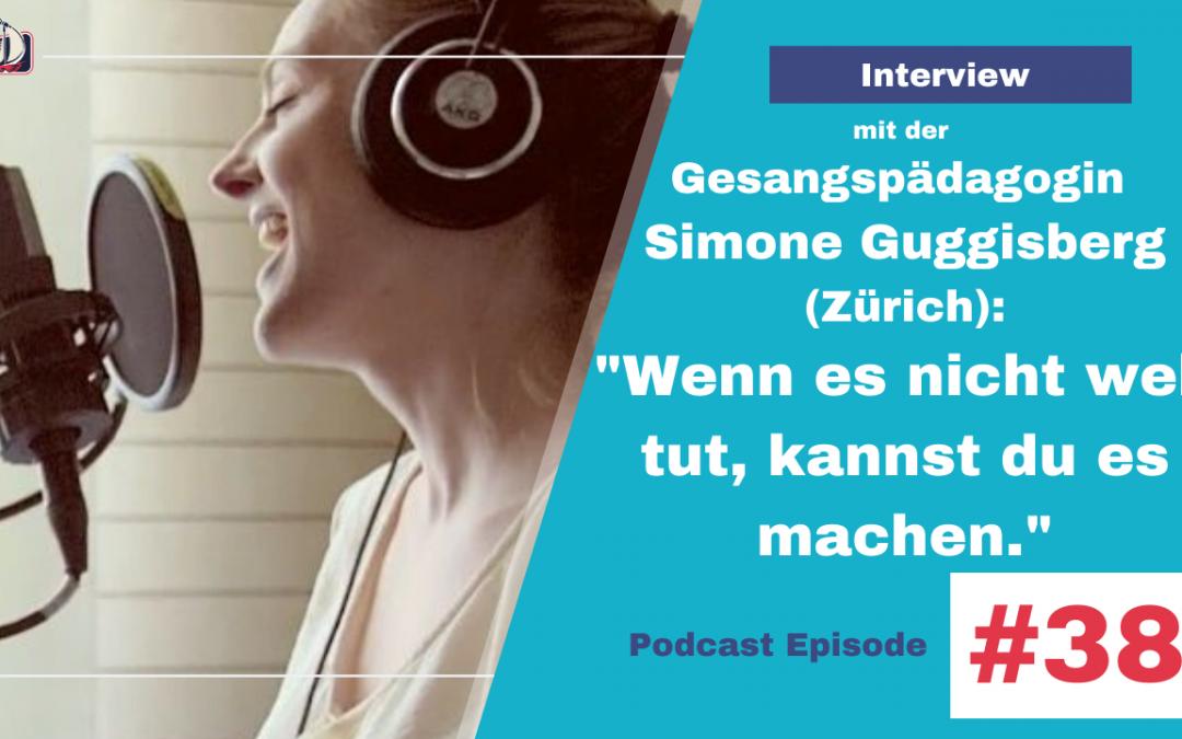 """""""Du kannst alles machen, solange es nicht weh tut"""" – Interview mit der Gesangpädagogin Simone Guggisberg"""